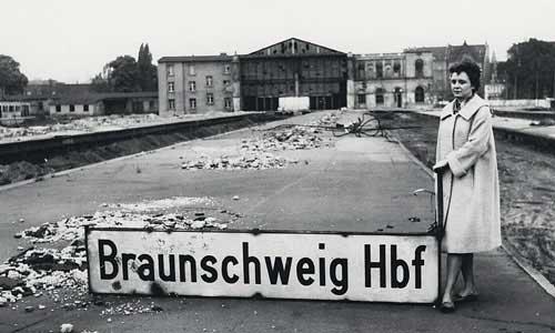 Im alten Kopfbahnhof im Mai 1962