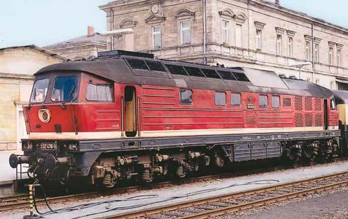 Im Jahr 1990 entstand im Bahnhof von Hof diese Aufnahme der 132 478-9Foto: Markus Lohneisen
