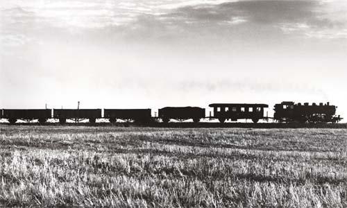 Mit einem Gmp von Torgau nach Dommitzsch dampft die 86 1330 durch einen Sommerabend im August 1972. Solche Leistungen auf Nebenbahnen waren typisch für die 1'D1'-Tenderlok. Foto: Rudolf Heym