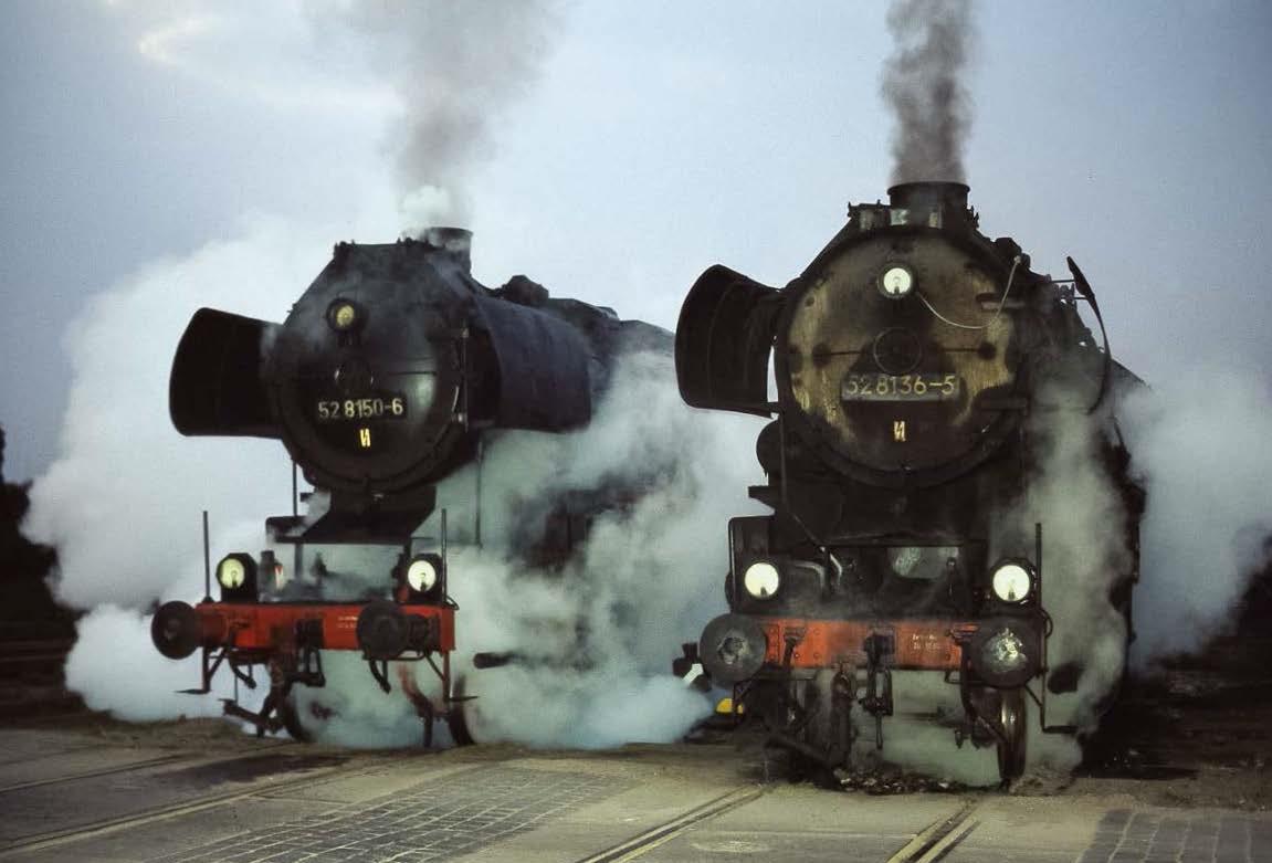 Haldensleben 1981/82: Die abenteuerliche Rettung durch eine 52er