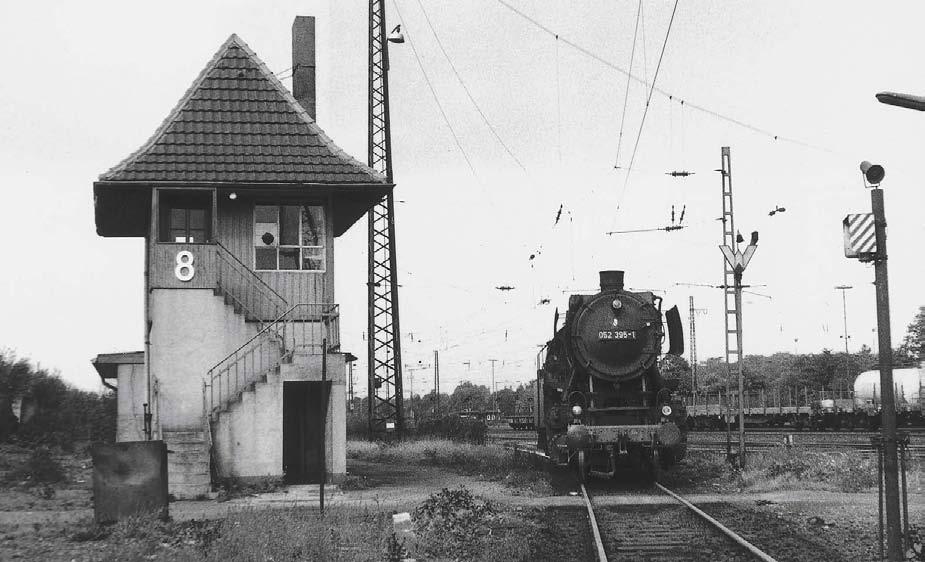 Ein Lokheizer im Bw Duisburg-Wedau und seine Einsätze: Oft um den Kirchturm herum