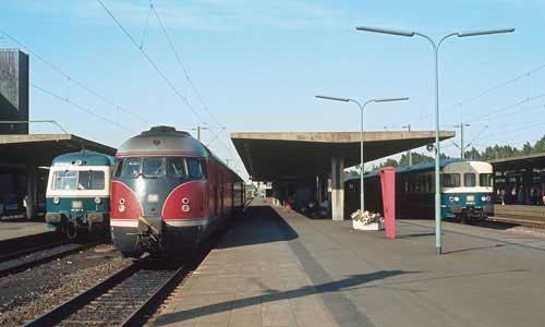 Chronik 1960 Neuer Hauptbahnhof F R Braunschweig Lok